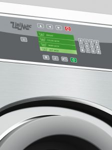UniMac washing machine control panel