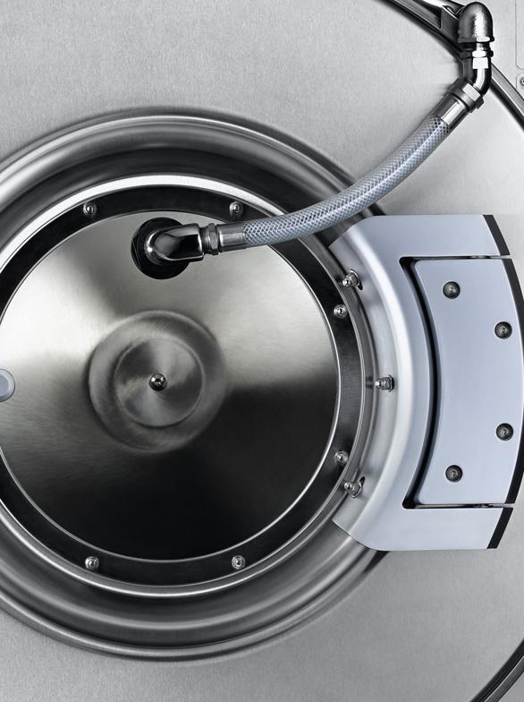 UniMac UW Series Hardmount industrial washer extractor
