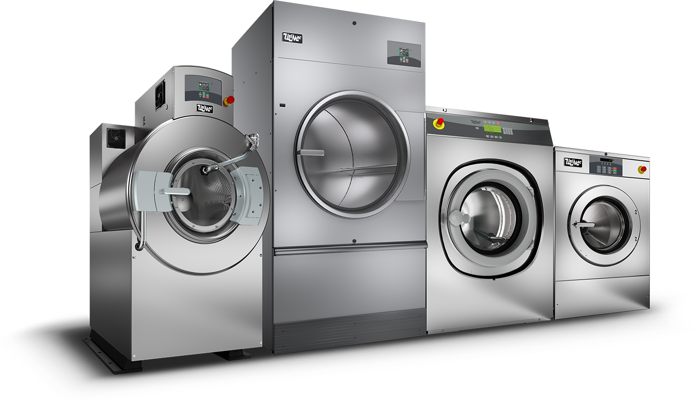 On-Premises industrial laundry washers and dryers by UniMac