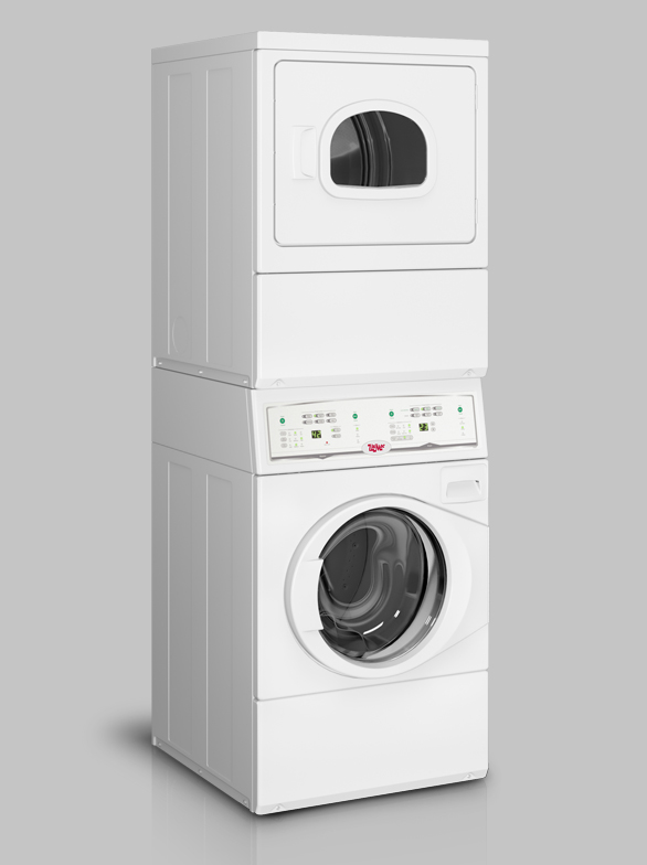 On-Premises Laundry Stack Washer/dryers