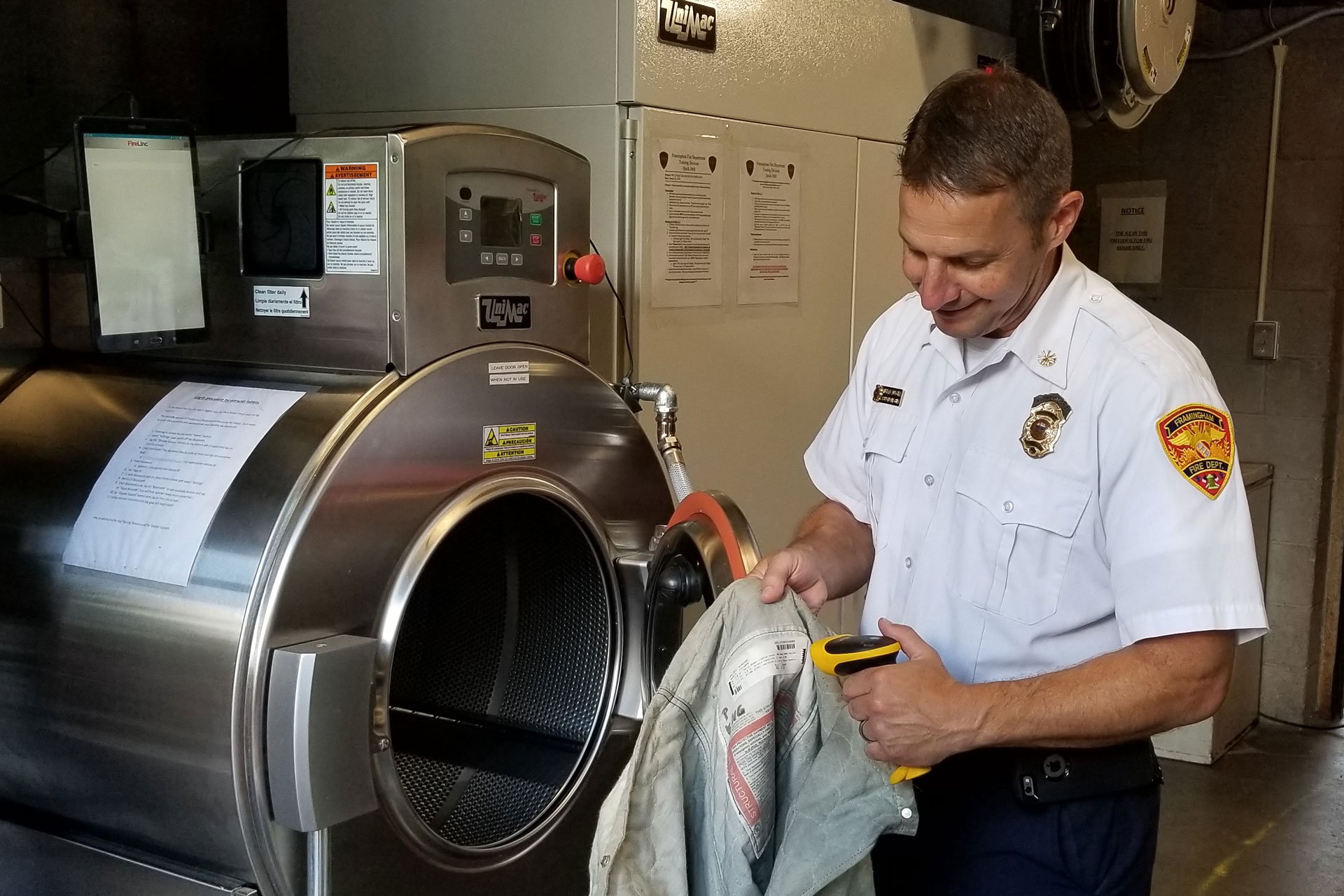 Laundering PPE is paramount for first responders during COVID-19 crisis