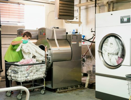4 tips to help reduce the risk of spontaneous combustion in the laundry room